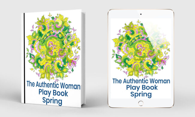 book and table of cover of the spring book